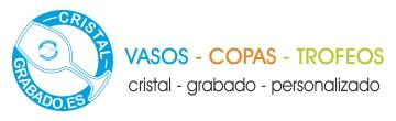 Logotipo cristalgrabado. Copas y vasos personalizados mediante grabado láser