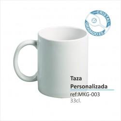 Taza 330ml Porcelana Personalizada