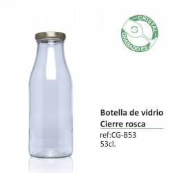 Botella de cristal personalizada 53,50 cl