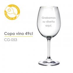Copa vino personalizada 49 cl.