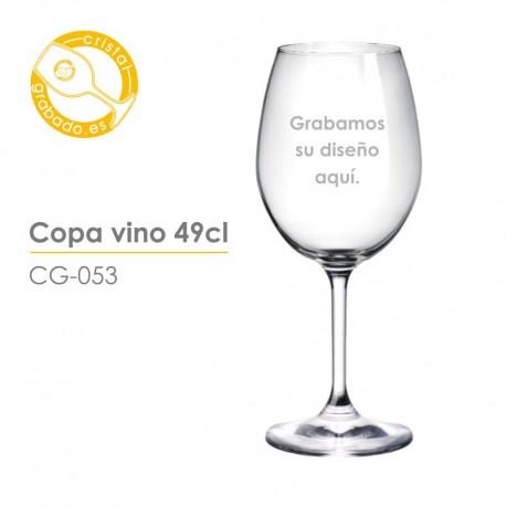 Copa de vino de 49 cl.