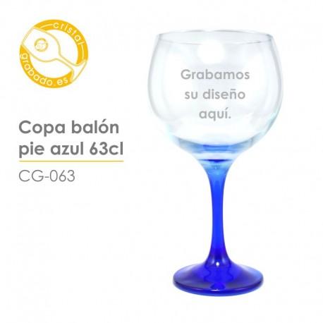 Copa Balón Azul 63 cl