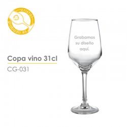 Copa de vino personalizada 31 cl.