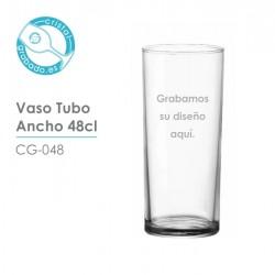 Vaso personalizado tubo ancho 48 cl