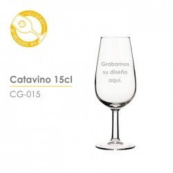 Catavino grabado 15 cl