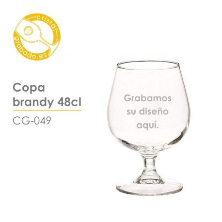Copa de brandy de 48cl