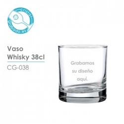 Vaso de whisky de 38cl.
