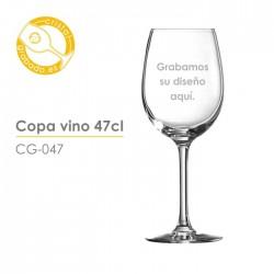 Copa de vino de 47cl.
