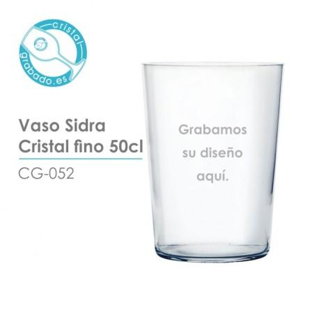 Vaso de Sidra Fino 50 cl.