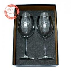 Estuche copas vino personalizadas