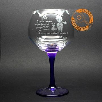 Copa balón grabada. Nuevo modelo de copa para personalizar.