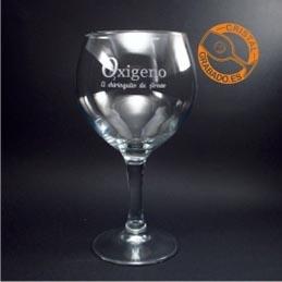 Copas de Gin Tonic grabadas, personalizadas con el diseño que desee.