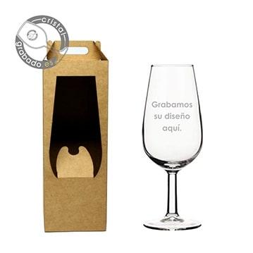 Nuevas cajas de presentación individual para nuestros vasos y copas personalizadas.