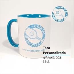 Taza de cerámica personalizada con Dibujo, Fotografía, Logotipo...