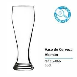 Vaso para cerveza de trigo personalizado con marcaje láser