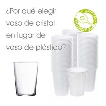 ¿Por qué elegir vasos de cristal en lugar de vasos de plástico?